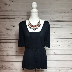 🌹Just in - Banana Republic Top in Navy, size L